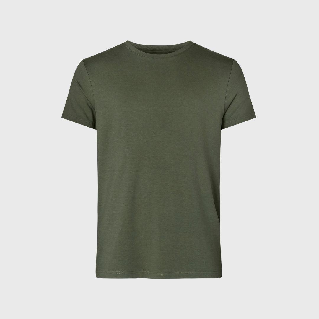Army grøn bambus t-shirt