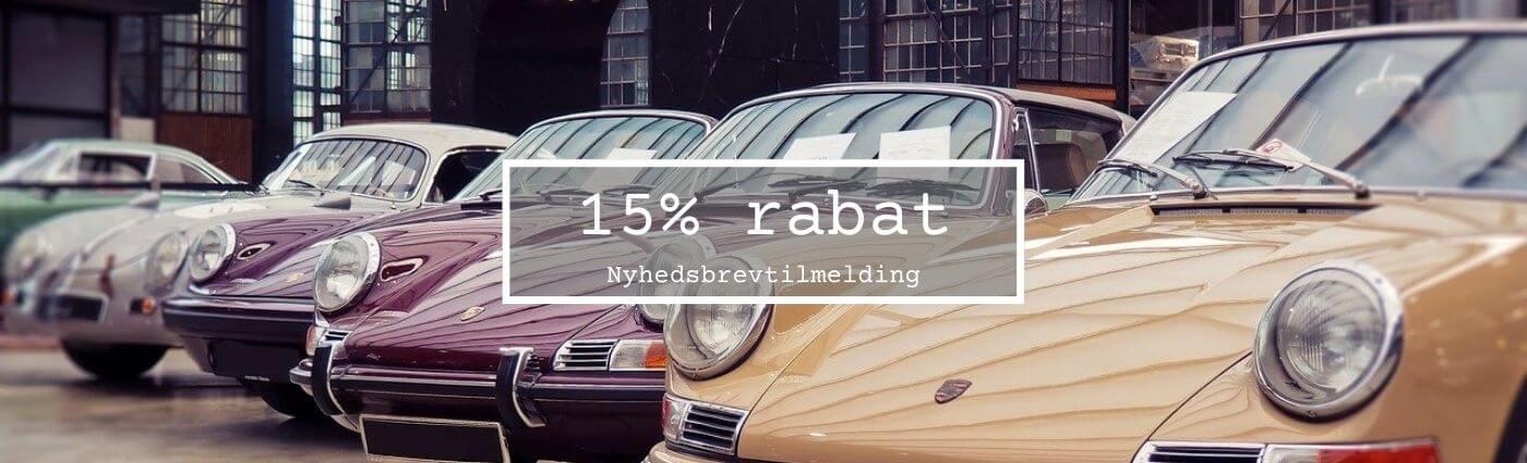 Banner med 15% rabat